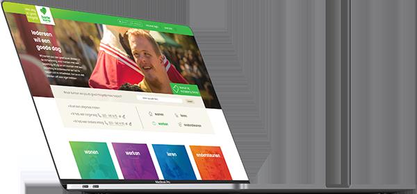 Hartekamp Groep webdesign