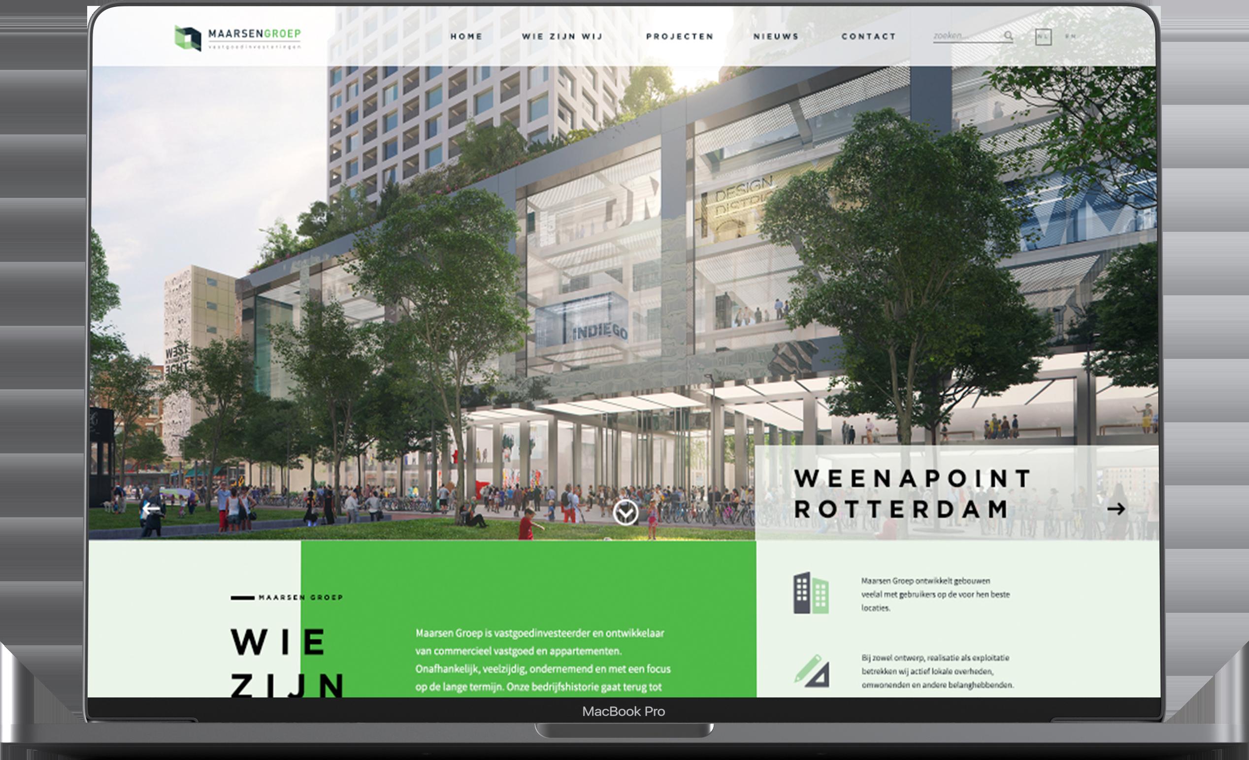 Maarsen Groep webdesign