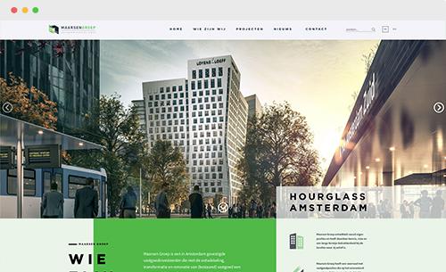 website Maarsen Groep
